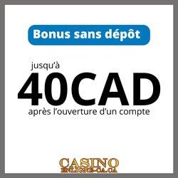 Bonus avantageux pour francophones